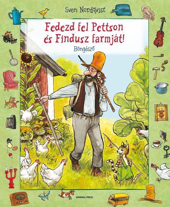 Sven Nordqvist - Fedezd fel Pettson és Findusz farmját!