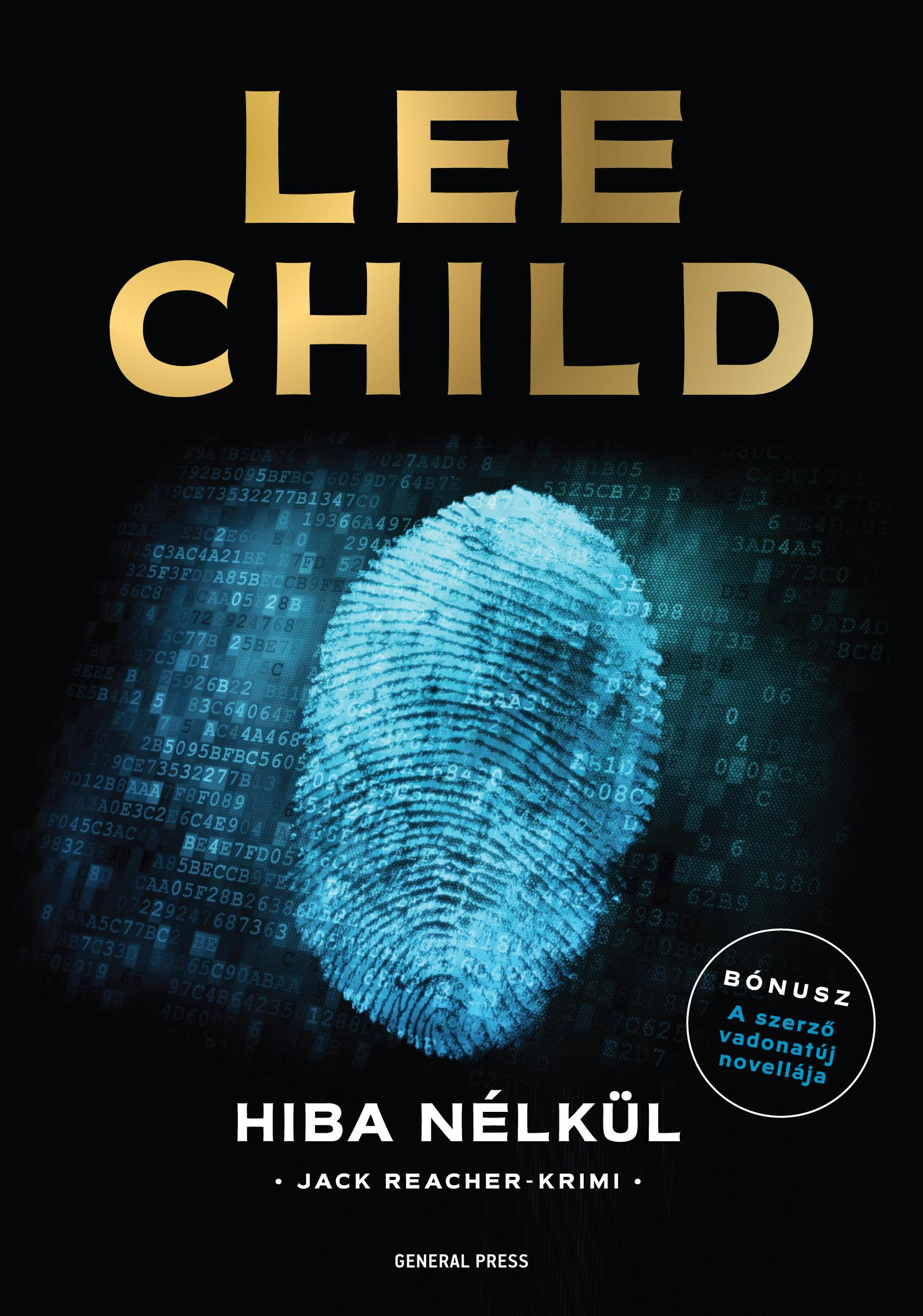 Lee Child - Hiba nélkül